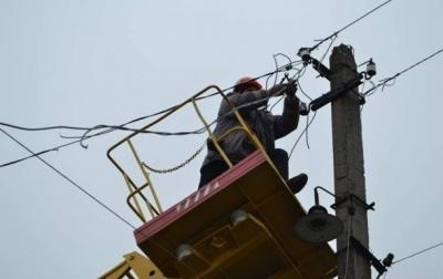 На Буковині через негоду 14 населених пунктів залишилися без світла