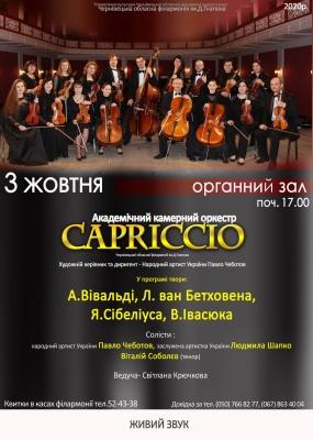 Концерт Академічного камерного оркестру