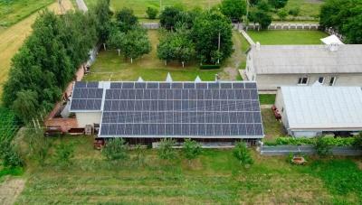 У Чернівецькій області запрацювала чергова сонячна електростанція, спроєктована компанією «ДімТек»*