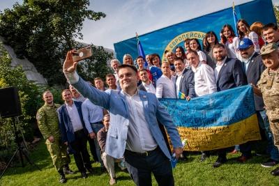 Хто йде в Чернівецьку міськраду від партії «ЄС»: повний список кандидатів