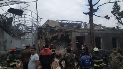 Війна у Нагірному Карабаху. Азербайджан звинуватив Вірменію в ракетному ударі по місту Гянджа