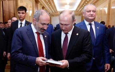 Війна у Нагірному Карабаху. Пашинян не виключив участь російських військ
