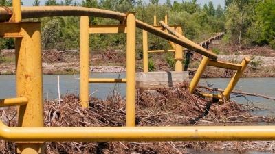 На Буковині не можуть відновити газопровід, що був зруйнований повінню – немає грошей