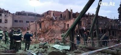 Війна у Нагірному Карабаху. Внаслідок обстрілу азербайджанського міста Гянджа загинули 9 осіб