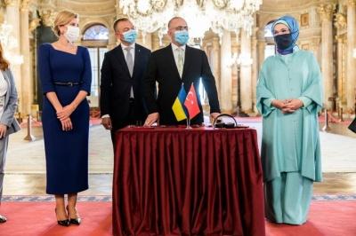 Олена Зеленська запустила україномовні аудіогіди в культурних пам'ятках Туреччини