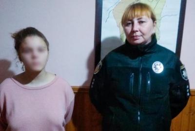 На Буковині розшукали неповнолітню дівчинку, яка після сварки з мамою втекла з дому