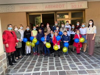 «Щоби діти знали свою мову»: буковинки у Мілані відкрили суботню школу