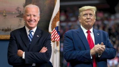 Вибори президента США: Байден поки що випереджає Трампа
