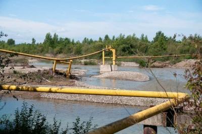 Уряд виділив Буковині 9 млн грн на ремонт газопроводу, який пошкодила повінь влітку цього року
