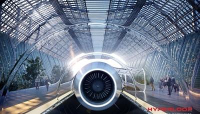 Зі швидкістю 172 км на годину. У капсулі Hyperloop вперше проїхалися пасажири