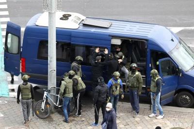 Протести у Білорусі. У неділю затримали понад тисячу осіб