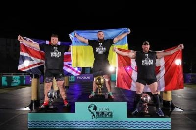 Українець став найсильнішою людиною планети. Олексій Новиков переміг на World Strongest Man - відео