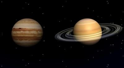 Вперше за 800 років: Юпітер і Сатурн наблизяться один до одного на мінімальну відстань