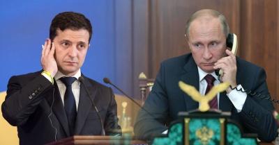 """""""Немає в планах"""". У Кремлі прокоментували можливі переговори між Путіним та Зеленським"""