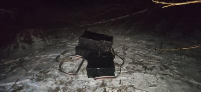Покинули цигарки і втекли: на Буковині прикордонники розшукують контрабандистів