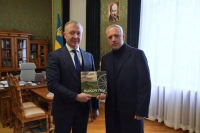 Осачук привітав Клічука з перемогою на виборах мера Чернівців