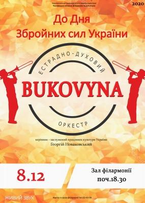Концерт до Дня збройних сил України