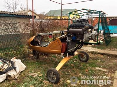 На Буковині у контрабандистів вилучили мотодельтаплани