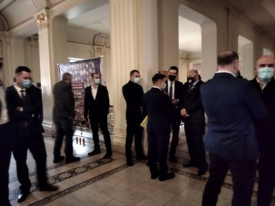 Голосування за голову Чернівецької облради затримується