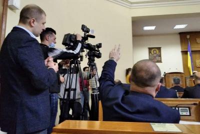 Зірвану через «замінування» сесію Чернівецької облради спробують продовжити завтра