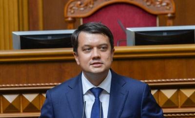 Разумков привітав Клічука з обранням на посаду мера Чернівців