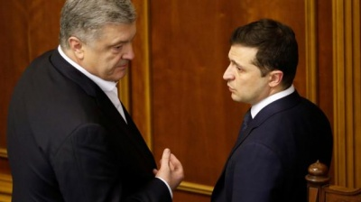 """Зеленський: """"З олігархом Порошенком не готовий співпрацювати"""""""