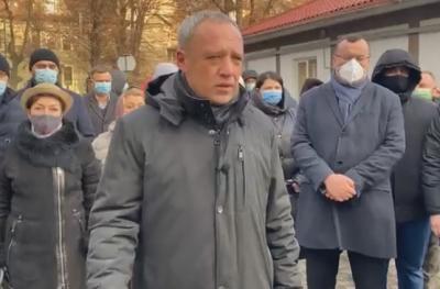 Мер Клічук прийшов до суду