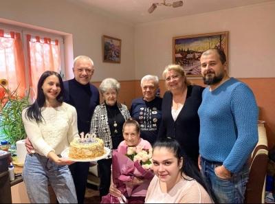 Клічук привітав чернівчанку, якій виповнилося 100 років