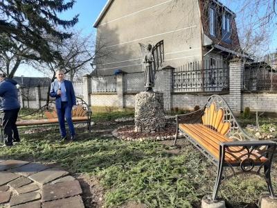У Чернівцях встановили скульптуру янгола: де з'явилася нова локація