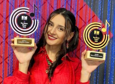 15 кліпів за рік: співачка з Чернівців NAVKA розповіла про власні рекорди 2020-го