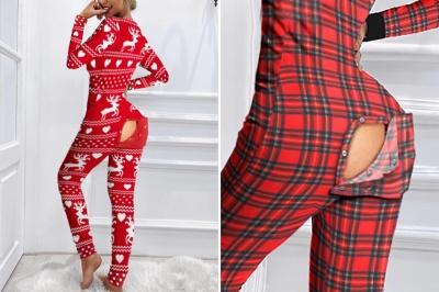 З'явилася сексуальна піжама з кишенею, що оголює сідниці