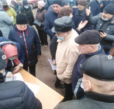 Село на Буковині повстало проти подорожчання газу: люди перекривали міжнародну трасу – фото