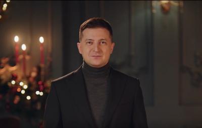 Зеленський привітав українців із Різдвом і нагадав, що колядки мають бути безпечними, - відео