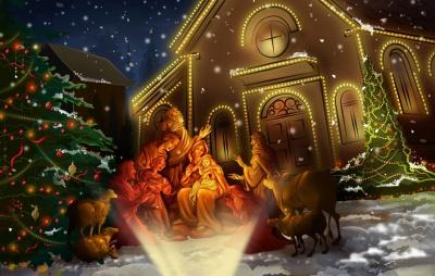 З Різдвом Христовим 2021 - кращі картинки, листівки та привітання до свята