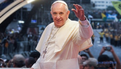 Папа Франциск зробив щеплення від COVID-19