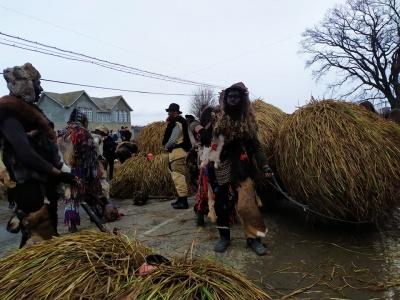 На Буковині завершилося свято Маланки, яке тривало дві доби - відео