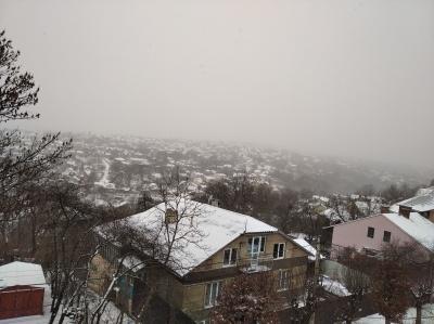 До Чернівців нарешті прийшла зима - фото