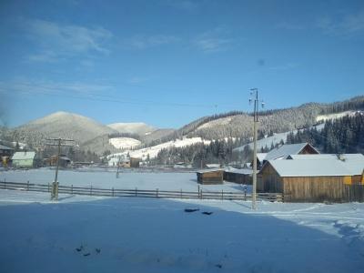 Лютий холод: у селі на Буковині зафіксували 25 градусів морозу – фото