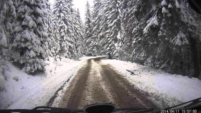 У горах Буковини на зиму перекрили небезпечний перевал: як об'їхати «Шурдин»