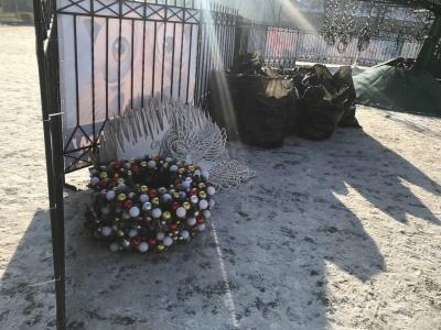 Головну ялинку Чернівців почали розбирати - фото