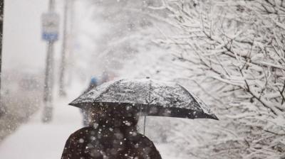 Україну замете снігом: у західних областях прогнозують погіршання погоди