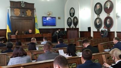 У Чернівецькій міськраді оголосили про створення 5 фракцій