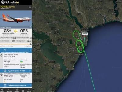 В Одесі сталася надзвичайна пригода з літаком із Єгипту: відео