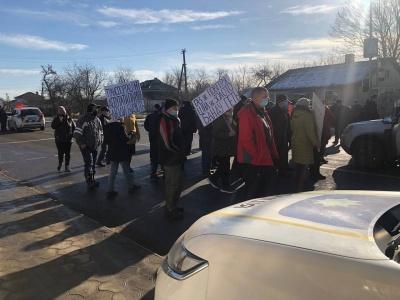 «Газ, як повітря, ціна – як золото»: на Буковині продовжуються «тарифні» протести
