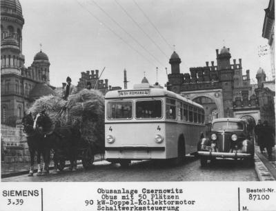 Невідома Буковина: перший тролейбус у Чернівцях з'явився другим в Україні