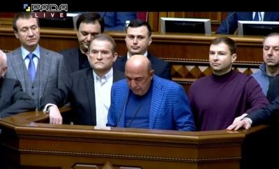 ОПЗЖ ініціює імпічмент Зеленському через санкції проти каналів соратника кума Путіна