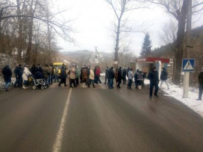 """На Буковині відновили рух на трасі, яку перекривали через """"тарифний протест"""""""