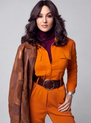Елегантність і стиль: Моніка Беллуччі постала в яскравому образі