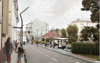 Поблизу ЧНУ замість стихійної парковки буде громадський простір - фото