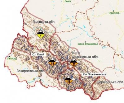 Небезпека 3 рівня: буковинцям не радять зараз йти в Карпати